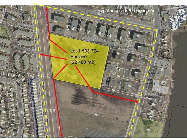 Terrain vacant à vendre Rivière-des-Prairies/Pointe-aux-Trembles (Montréal)