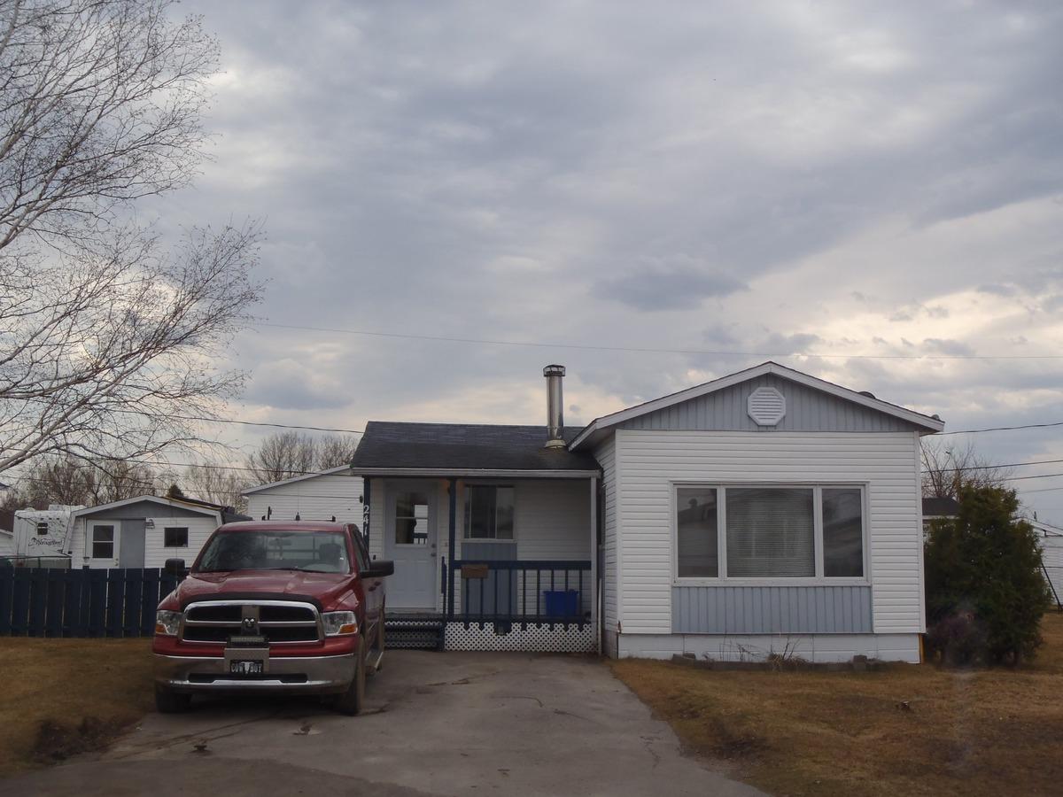 Maison mobile à vendre à SaintHonoré, SaguenayLacSaint