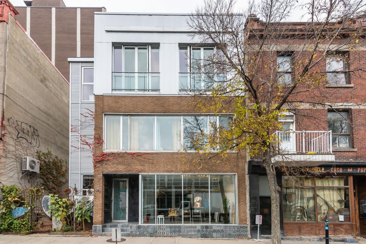 Location d'espace commercial/Bureau à louer Le Plateau-Mont-Royal (Montréal)