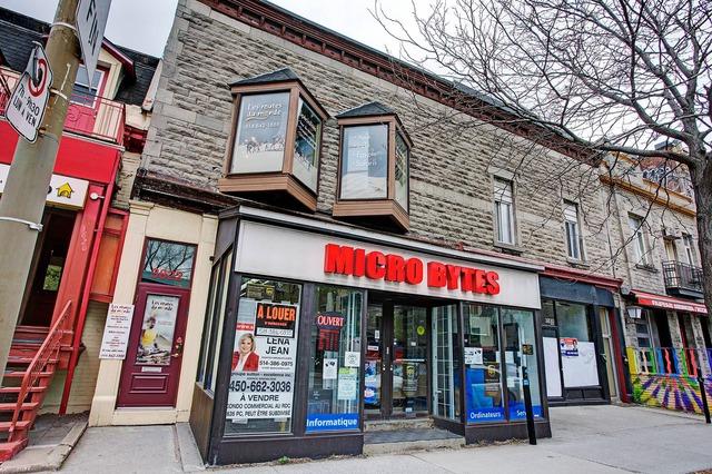 B tisse commerciale bureau vendre 3822 3826 rue st for Achat premiere maison montreal
